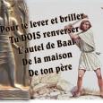 Texte biblique: I Rois 17 «Venez assister au combat du siècle: Baal contre l'Eternel, le champion des Cananéens contre celui d'Israël, le Dieu de la fertilité contre celui de l'alliance! […]