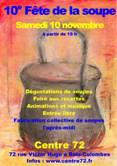 Samedi 10 novembre 2018 à partir de 19h au Centre 72, 10ième fête de la soupe Nouveauté pour cette 10e fête de la soupe: vous pouvez venir dans l'après-midi, dès […]