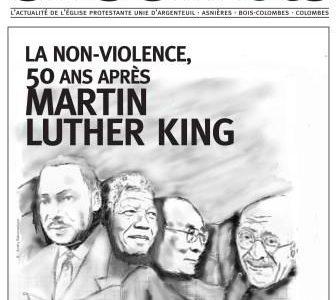 «Ensemble», le journal de l'Église Protestante Unie d'Argenteuil, Asnières, Bois-Colombes et Colombes. Ensemble N° 11 «La non-violence, 50 ans après Martin Luther King» Voici le onzième numéro du journal «ENSEMBLE». […]