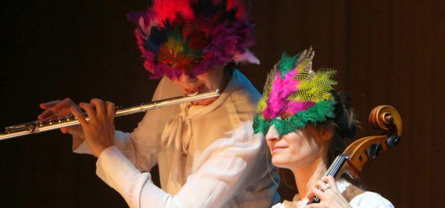 spectacle jeune public avec Corinne Hournau (flûte traversière) et Julie Dutoit (violoncelle), costumes Claire Djemah. Entrée libre, avec chapeau en fin de concert pour une libre participation aux frais. Ce […]