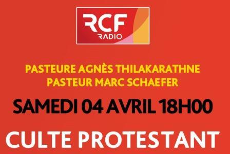 Culte en direct sur RCF samedi 4 avril à 18h00 Radio Chrétienne Francophone (RCF) propose à l'Eglise protestante unie un créneau de 45 minutes hebdomadaire pour permettre à tous ceux […]