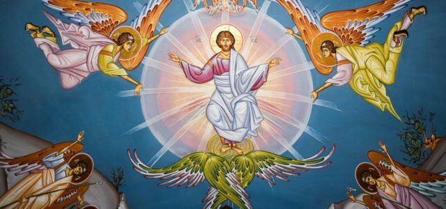 Il les emmena jusqu'à Béthanie, puis il leva les mains et les bénit. Pendant qu'il les bénissait, il se sépara d'eux et fut enlevé au ciel.Quant à eux, après s'être […]